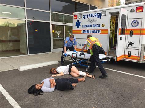 presbyterian emergency room upmc presby holds emergency preparedness drill to simulate mass casualty event 90 5 wesa