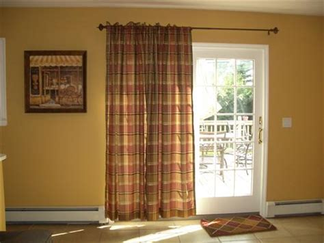 curtains for sliding doors in kitchen sliding patio door window treatments home intuitive