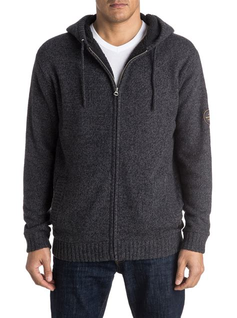 Sweater Quiksilver new likoma zip up hooded sweater 3613371988425 quiksilver