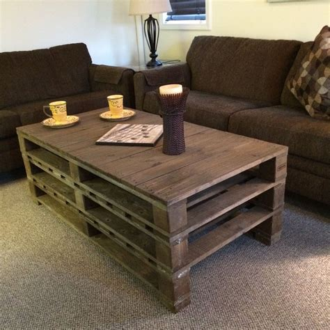 The Best 20 Diy Pallet Coffee Table Projects For Your Pallet Coffee Table