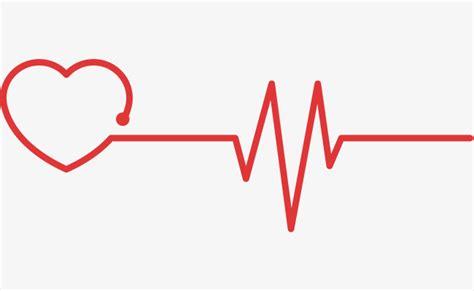 latidos y si 8467585889 rojo coraz 243 n latido test bienestar p 250 blico red love electrocardiograma png y vector para