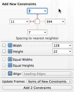 xcode layout alignment me and mark publishing blog 187 xcode 5 auto layout buttons