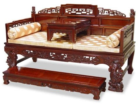 Furniture China by Beds Chinoiserie Of Rosewood Opium Bed