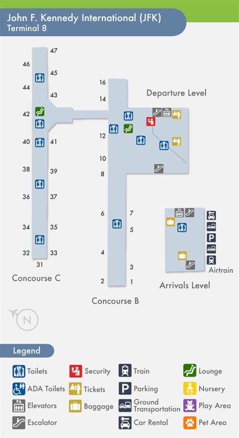 jfk terminal 4 map aa guide jfk new york jfk int airport mct connection 2016 onwards page 15 flyertalk
