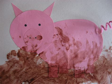 pig crafts for kiddie crafts 365 crafts for page 27