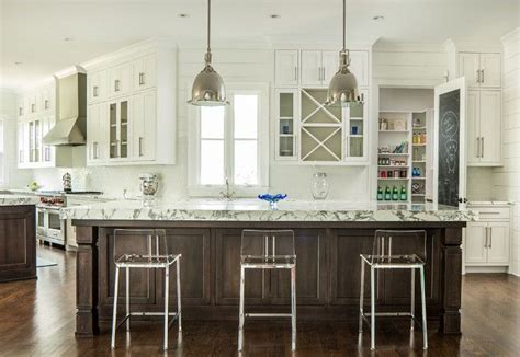 kitchen with 2 islands 17 best images about kitchens on transitional