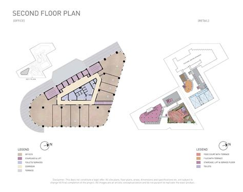 second floor floor plans indiabulls one09 new commercial project sector 109 gurgaon