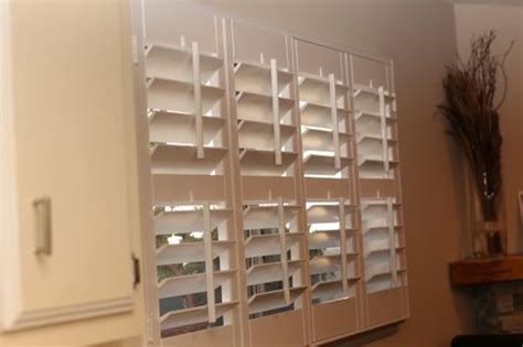 Custom Interior Shutters Installation At The Home Depot Home Depot Window Shutters Interior