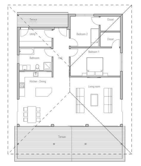 new home floor plans for 2013 two bedroom small house plan house plan