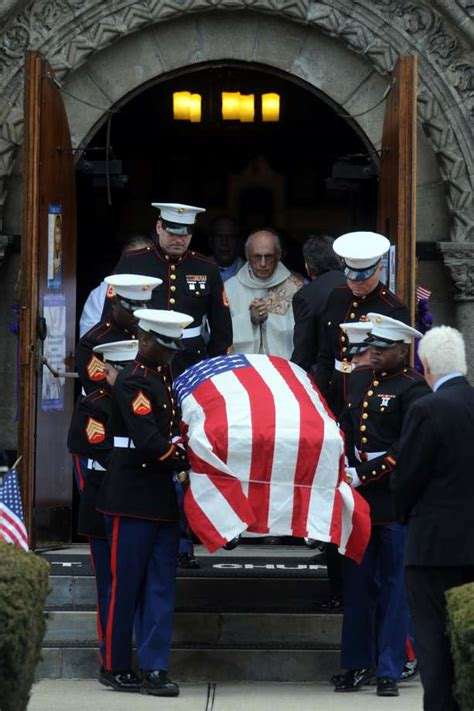 westport marines life celebrated  funeral connecticut