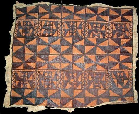 fijian pattern meaning tapa cloth apia island of upolu samoa museum of