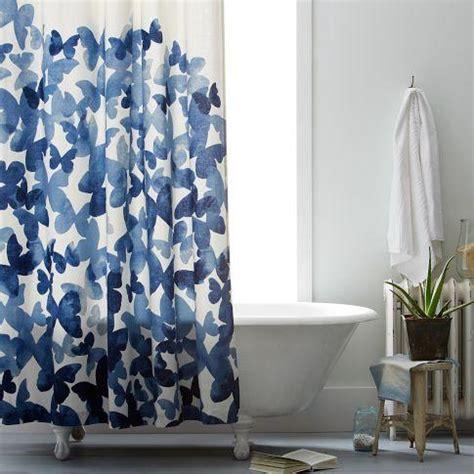 west elm shower curtains mariposa shower curtain west elm