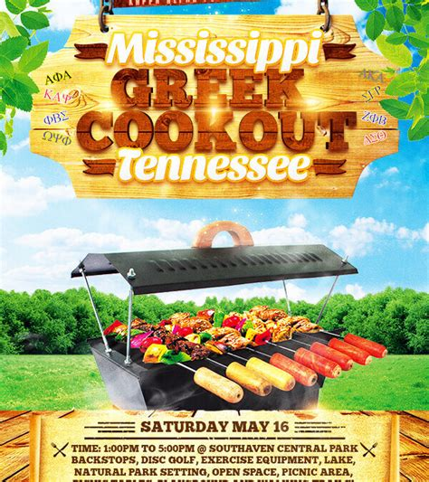 cookout flyer template cookout flyer cookout flyer dtk templates