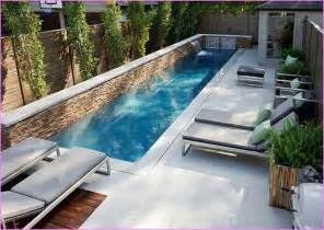 small yard pool lap pool in small backyard google search screened hot