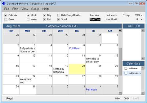 Calendar Program Calendar Program Pro