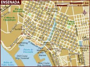 map of ensenada