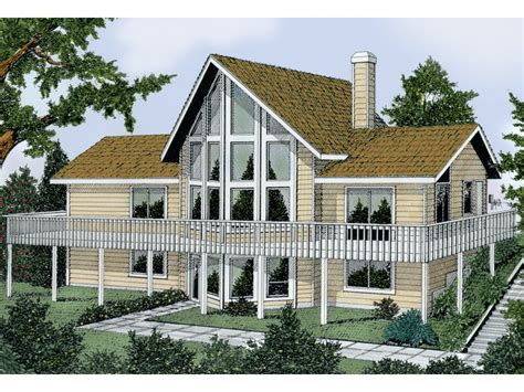 vacation home designs tinsley a frame vacation home plan 015d 0010 house plans and more