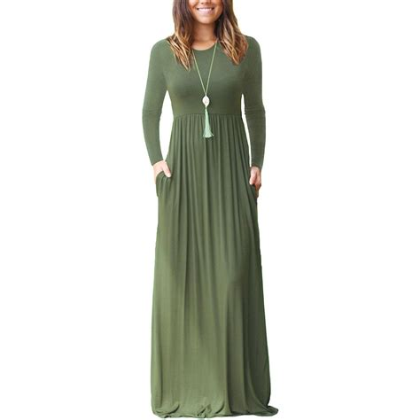 Plain Levin Casual Outer 1 dearcase sleeve plain maxi dresses casual dresses with pockets be sure