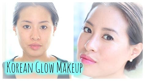 tutorial makeup glowing ala korea how to korean glow dewy makeup mul gwang k makeup