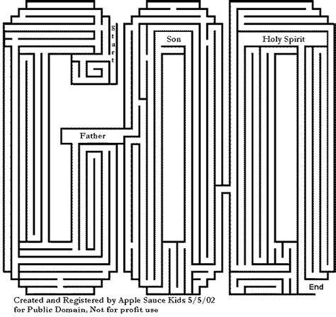 printable mazes christian fun pages at kidz korner