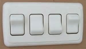 4 rv on light switch 12 volt motor home cer travel
