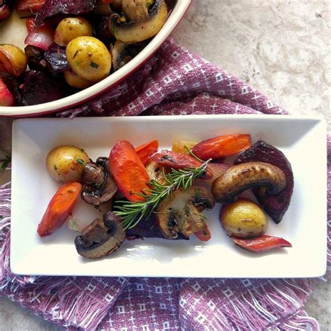 medley of roasted root vegetables roasted root vegetable medley the gardening cook