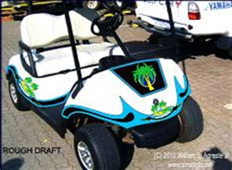 golf cart wrap template golf cart and buggy reflective decals and graphics set