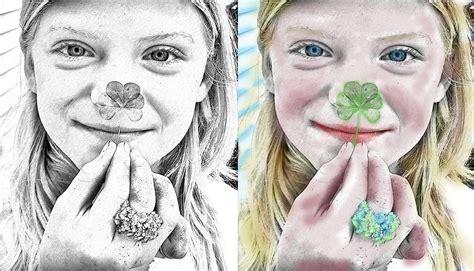 color sketch sketch my photo digital color sketch