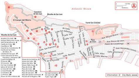 san juan map maps update 600388 tourist attractions map in