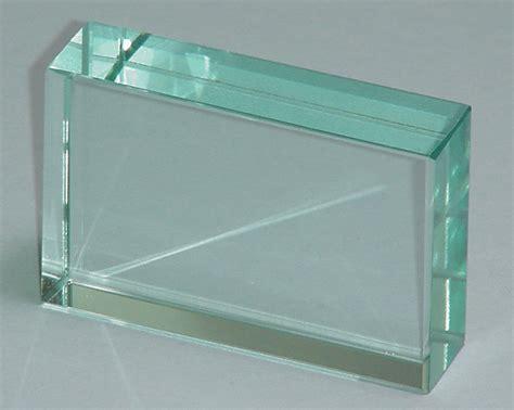 glass block 1105 2 glass block rectangular 75 mm x 50 mm x 18mm
