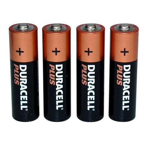 four aa batteries 4 x aa batteries gifts gadgets qwerkity