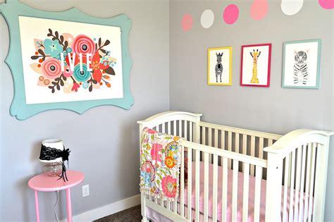 baby girl nursery wall art lou lou girls