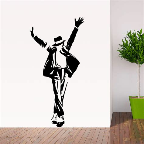home decor wall posters michael jackson wall sticker removable wall decor decal