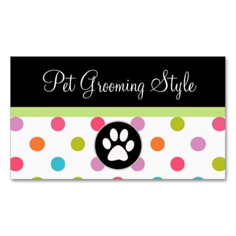 animal business card templates free 17 best images about business cards pet sitter on