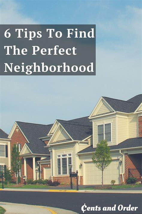 home buying find the perfect neighborhood diy ideas