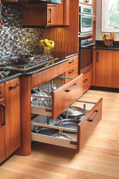 Kitchen Pot Drawers by Photo Page Hgtv