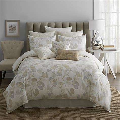 oxidized leaf 4 piece comforter set bed bath beyond