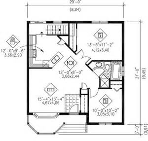 Small Bungalow Floor Plans Small House Plans Bungalow Cottage House Plans