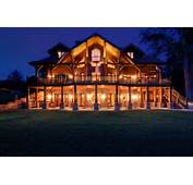 Awestruck Extravagant Design And Massive Round Logs = Log Home Living