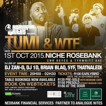 wangnika by wtf analogue nites presents tumi and witness the funk wtf