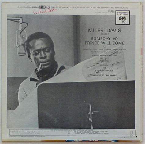 davis my davis signed some day my prince will come lp