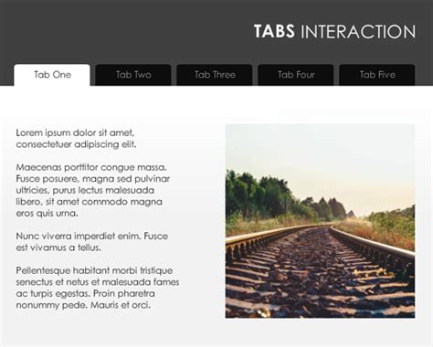 Storyline 2 Simple Tabs Template Articulate Storyline Templates Free