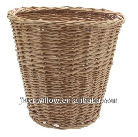 decorative waste baskets cheap natural wicker waste basket buy wicker waste
