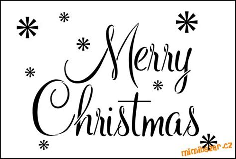 printable merry christmas stencil free merry christmas stencil free printable www imgkid com