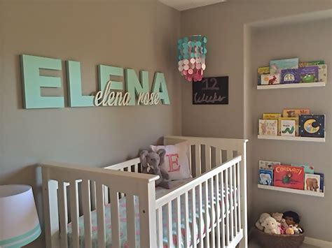 Bed In Wall Name - s pink aqua and gray nursery project nursery