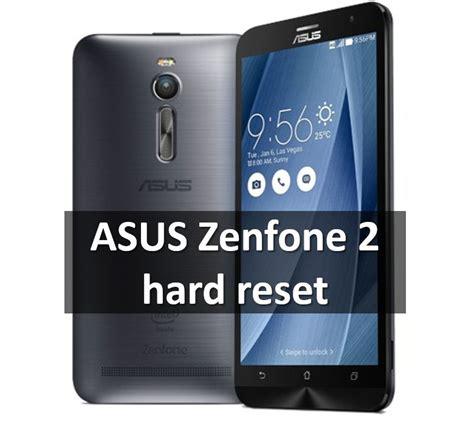 reset android zenfone asus zenfone 2 hard reset restore factory settings
