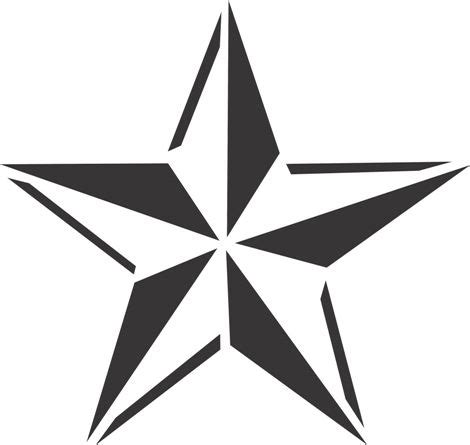 printable nautical star 33 best anchor stencil nautical star tattoo images on