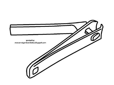 Harga Gunting Kartun by Gambar Mewarnai Gambar Sketsa Gunting Kuku 1 Di Rebanas