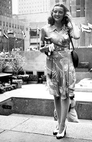 in the 40s were the shoes short or long 1940s street style in new york found photo vintage fashion