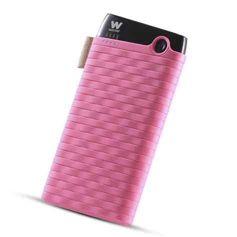 Wellcomm Powersafe 6000 Mah Pink woxter powerbank sr 6000 mah pink discoazul